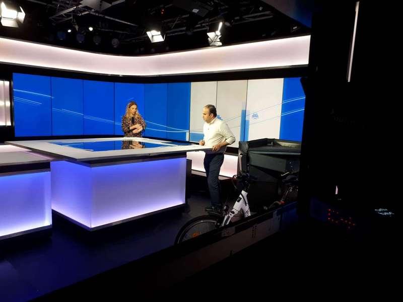 France24 backstage