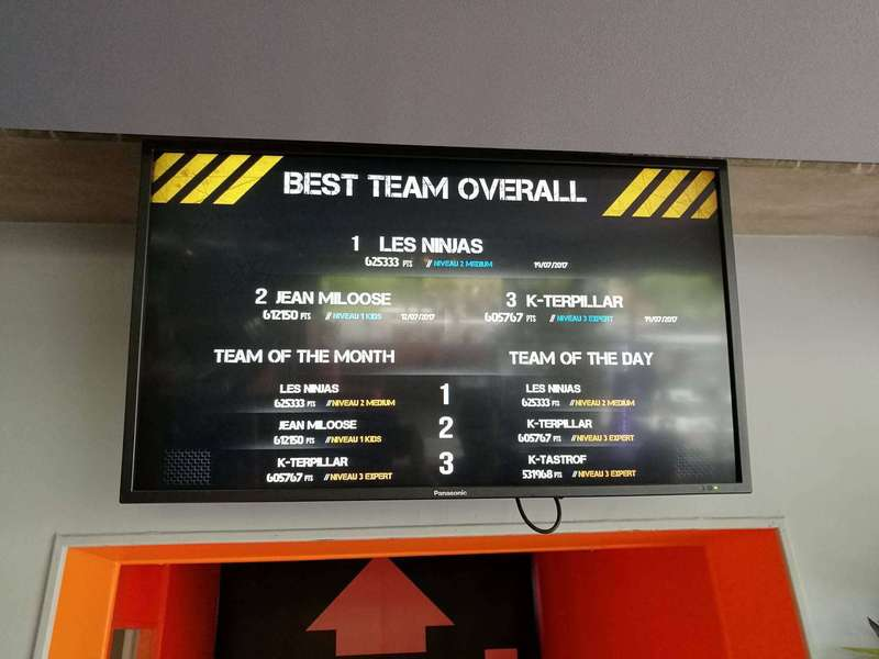 Teambuilding at Koezio: TOP 3 OVERALL for K-TERPILLAR team