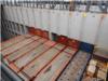 lit de conteneurs flat rack