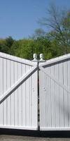 DANTIN, Installation de portail ou porte de garage à Panazol