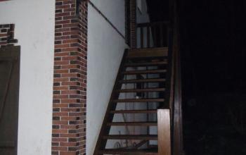 escalier extérieur menuiserie MIGUET EURE 27580 CHAISE DIEU DU THEIL