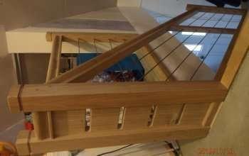 escalier menuiserie MIGUET EURE 27580 CHAISE DIEU DU THEIL