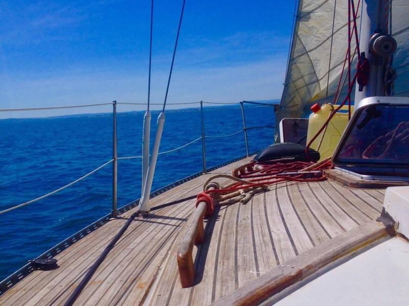 On finit ce mois de juin par le premier teambuilding K-Ryole...en voilier !