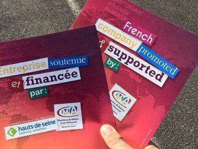Les beaux stickers de la CMA des Hauts de Seine