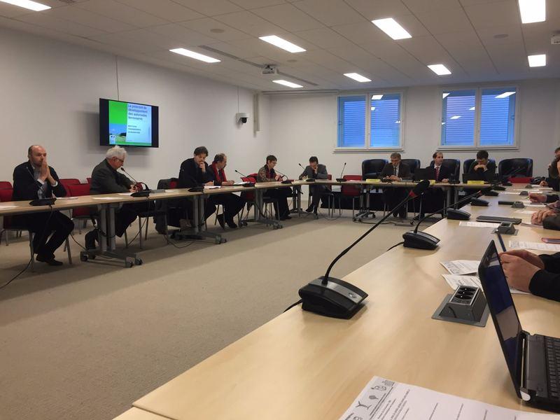 Conférence au Ministère sur les coûts des différents modes de transports