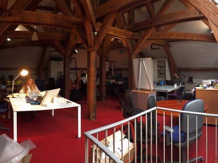 Nous sommes acceptés à l'incubateur ENSAM dans Paris...déménagement en mars ! Ici les bureaux