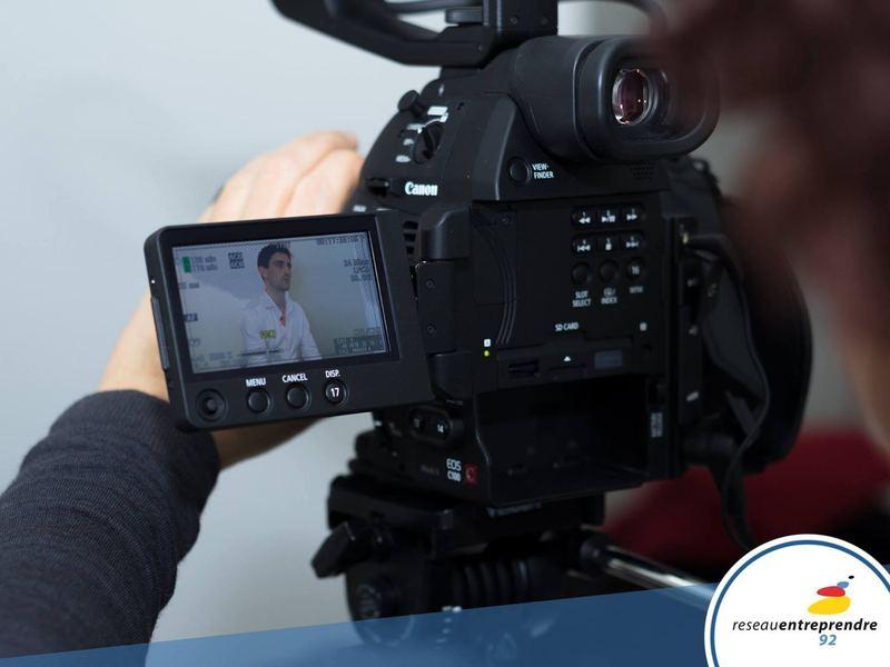 Interview par Jérome Tichit (BFM Business) pour le Réseau Entreprendre