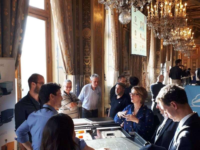 ...et de rencontrer du beau monde : Marie-Hélène Borie, la directrice de la DPA (Direction Patrimoine et Architecture) de la Ville de Paris