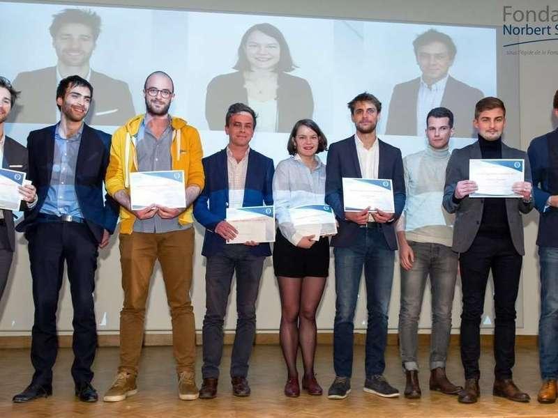 L'annonce des lauréats du Prix Norbert Ségard. K-Ryole apporte une touche de couleur !