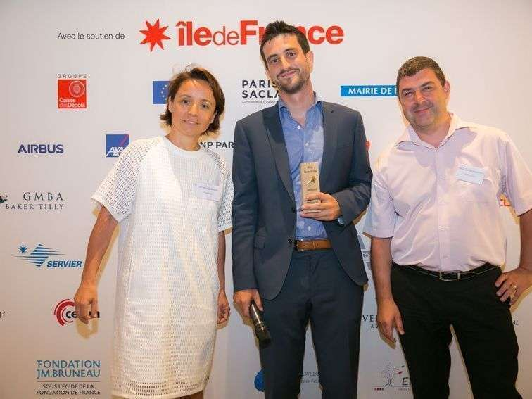 Après LE pitch : la photo officielle