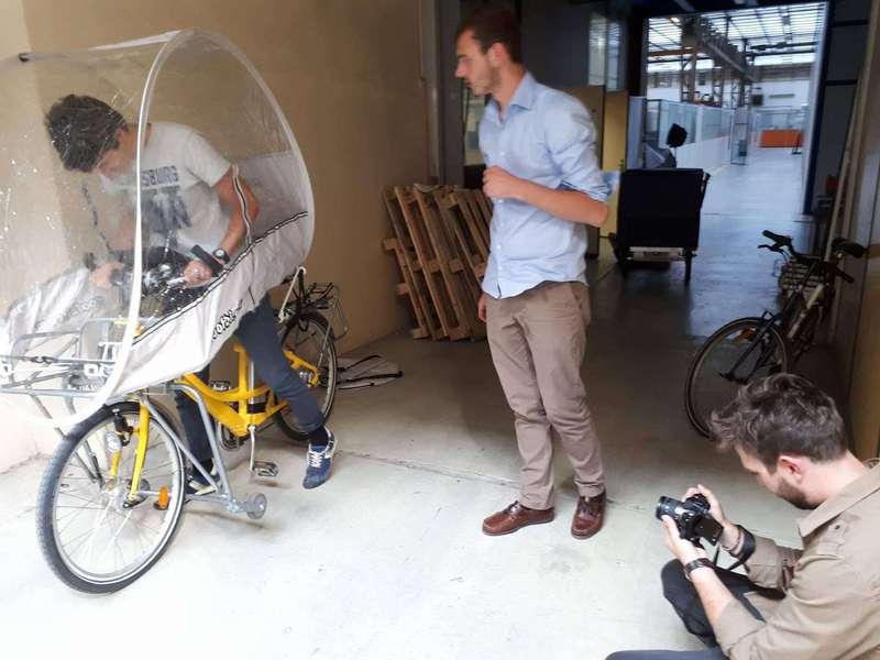 Test de la bulle de protection pour la pluie