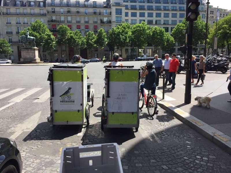 K-Ryole croise Vélissime en plein Paris...signe d'un futur partenariat ;-) ?