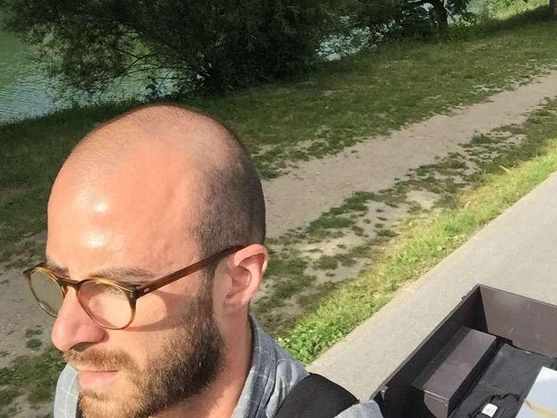 Selfie K-Ryole en bords de Seine